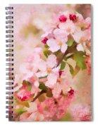 Spring Pink Spiral Notebook