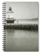 Spring Point Ledge Light Spiral Notebook