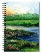 Spring Pond Spiral Notebook
