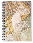 Spring Printemps Spiral Notebook