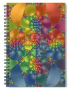 Spring Promises Fractal Spiral Notebook