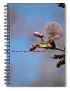 Spring Quote Spiral Notebook