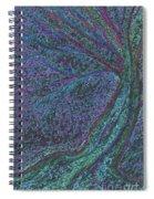 Spring Rain Tree Spiral Notebook