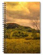 Spring Rain - White Mountains -maine Spiral Notebook