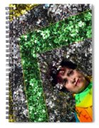 Spring Rainbow And Flowers Spiral Notebook
