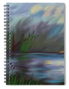 Spring Reed In The Canyon Spiral Notebook