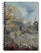 Spring Roe Deer Spiral Notebook