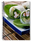 Spring Rolls Spiral Notebook