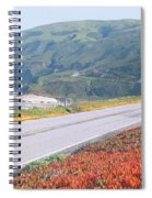Spring, Route 1, California Coast Spiral Notebook