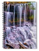 Spring Runoff At The Falls Spiral Notebook