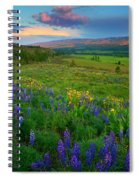 Spring Storm Passing Spiral Notebook