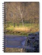 Spring Sunrise At Ring Bolt Rock Spiral Notebook