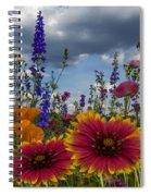 Spring Symphony Spiral Notebook