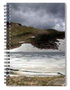Mountain Lake Spring Thaw Spiral Notebook