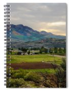 Spring Time In The Valley Spiral Notebook