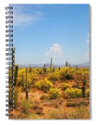 Spring Time On The Rolls - Arizona. Spiral Notebook