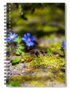Spring Wild Flowers Spiral Notebook