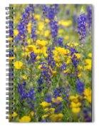 Spring Wildflower Bouquet  Spiral Notebook