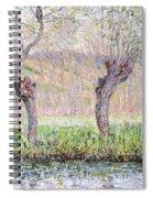 Spring Willows Spiral Notebook