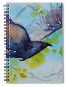 Spring Wings Spiral Notebook