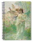 Springtime Allegory Spiral Notebook