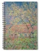 Springtime At Giverny Spiral Notebook
