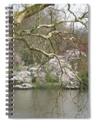 Springtime At The Pond Spiral Notebook