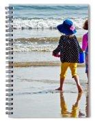 Springtime At The Seaside Spiral Notebook