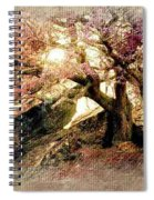 Springtime Hidaway Spiral Notebook