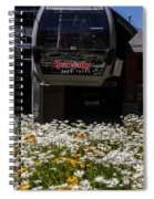 Springtime In Tahoe Spiral Notebook