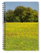 Springtime In Texas 3 Spiral Notebook