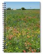 Springtime In Texas 6 Spiral Notebook