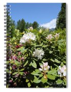 Springtime In The Cascades Spiral Notebook