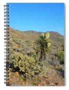 Springtime In The Cerbat Mountain Foothills Spiral Notebook