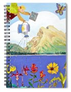 Springtime In The Rockies Spiral Notebook