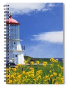 Springtime Lighthouse Spiral Notebook