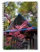 Springtime Pagoda Spiral Notebook