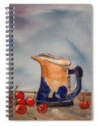 Springtime Table Spiral Notebook
