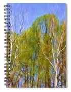 Springtime Trees Spiral Notebook