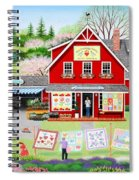Springtime Wishes Spiral Notebook