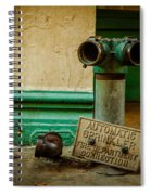 Sprinkler Green Spiral Notebook
