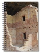 Spruce Tree House Structure Spiral Notebook