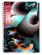 Spun Energy Spiral Notebook