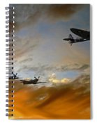 Squadron Scramble Spiral Notebook