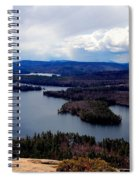 Squam Lake New Hampshire Spiral Notebook