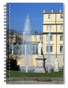Square And Statues Spiral Notebook
