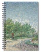 Square Saint Pierre Spiral Notebook