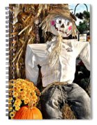 Square Scarecrow Spiral Notebook