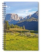Square Top 2 Spiral Notebook