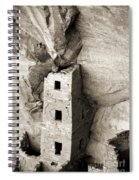 Square Tower House Spiral Notebook